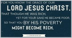 2 Corinthians 8:9