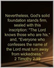 2 Timothy 2:19