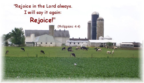Lancaster County PA farm scene