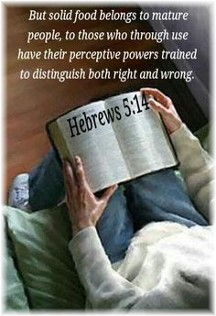 Hebrews 5:14