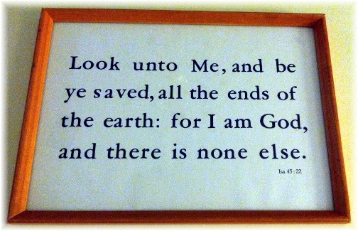 Kember print Isaiah 45:22