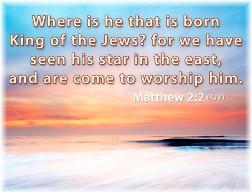 Matthew 2:2