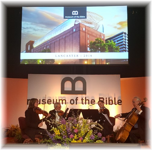 Museum of the Bible presentation (Lancaster Bible College, Lancaster 5/16/16)