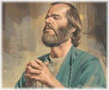 Paul praying