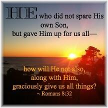 Romans 8:32
