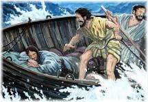 Sleeping Jesus