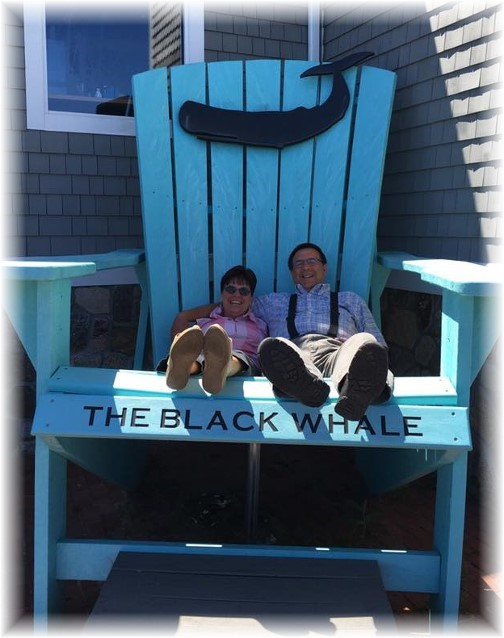 Black Whale chair, New Bedford, MA 6/18/16