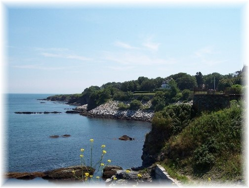 Cliffwalk in Newport, Rhode Island