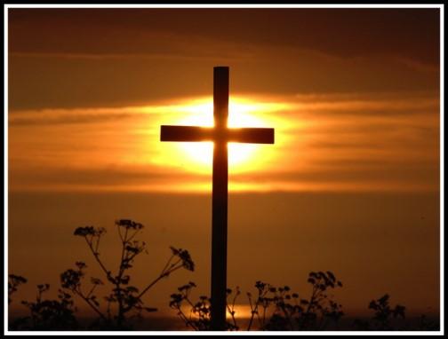 Sun on the cross (photo by Steve Rebus http://steverebus.com/rebus-photography/
