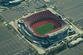 Arrowhead stadium, Kansas City, MO