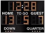 Football time clock