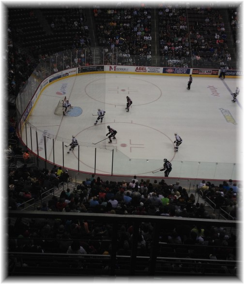 Hershey Bears hockey game 4/17/15