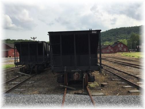 East Broadtop rail cars