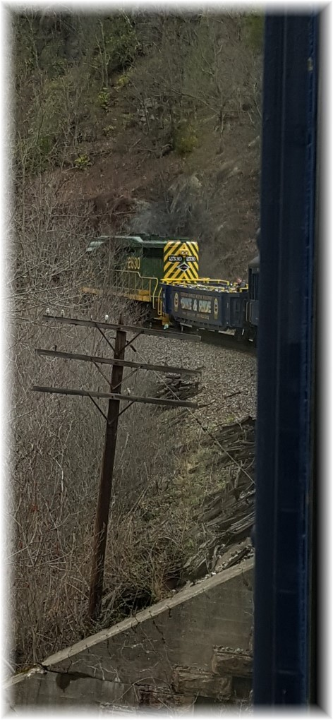 Lehigh River Gorge view from train 04/23/16