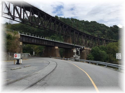 Safe Harbor trestle on Low Grade Railroad 8/8/15