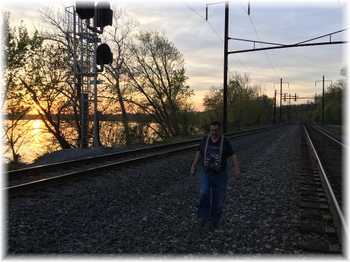Norfolk Southern railroad tracks 04/18/16