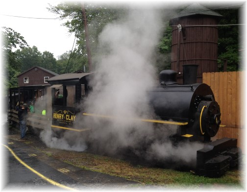 Steam engine at Pioneer Tunnel mine 8/10/15