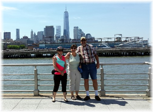 Freedom Tower from Hudson River pier 5/26/14