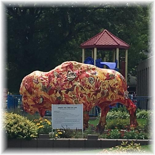 Bartlesville painted buffalo 8/2/17