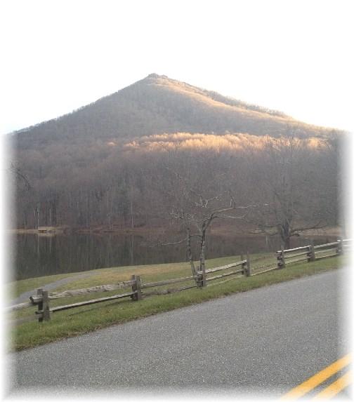 Blue Ridge Parkway mountain 11-25-14