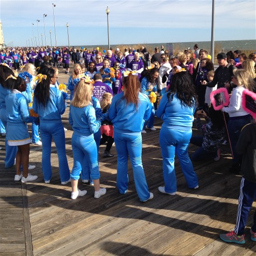 Rehoboth Beach boardwalk buddy walk 10/10/15