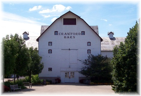 Crawford Barn at Longaberger Homestead