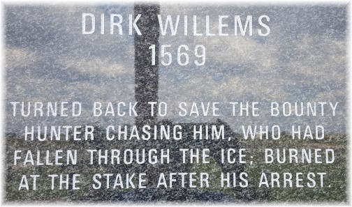 Dirk Willems, Voice of the Martyrs wall, Bartlesville OK 8/2/17