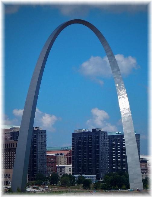 Gateway Arch, Saint Louis, MO 7-31-17