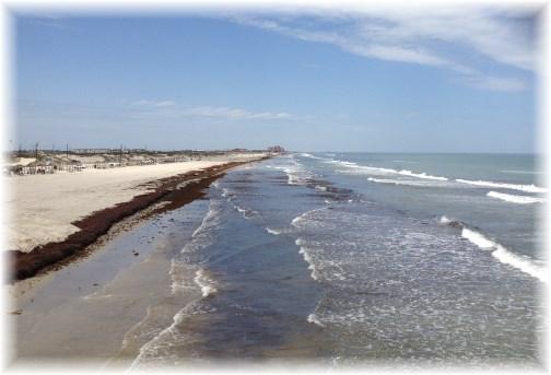 Gulf coast in Corpus Christi, TX 5/2/14