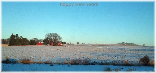 Wisconsin winter (photo by Georgia)