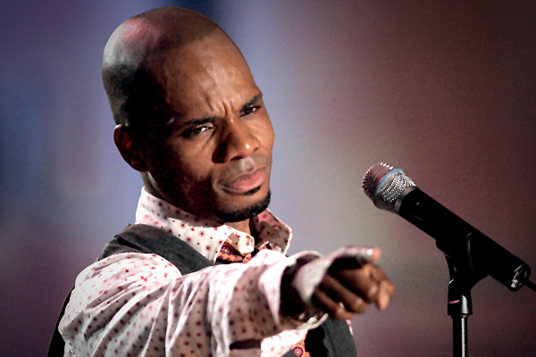 "Amazing: Kirk Franklin arrives Lagos for the ""Fearless"" concert"