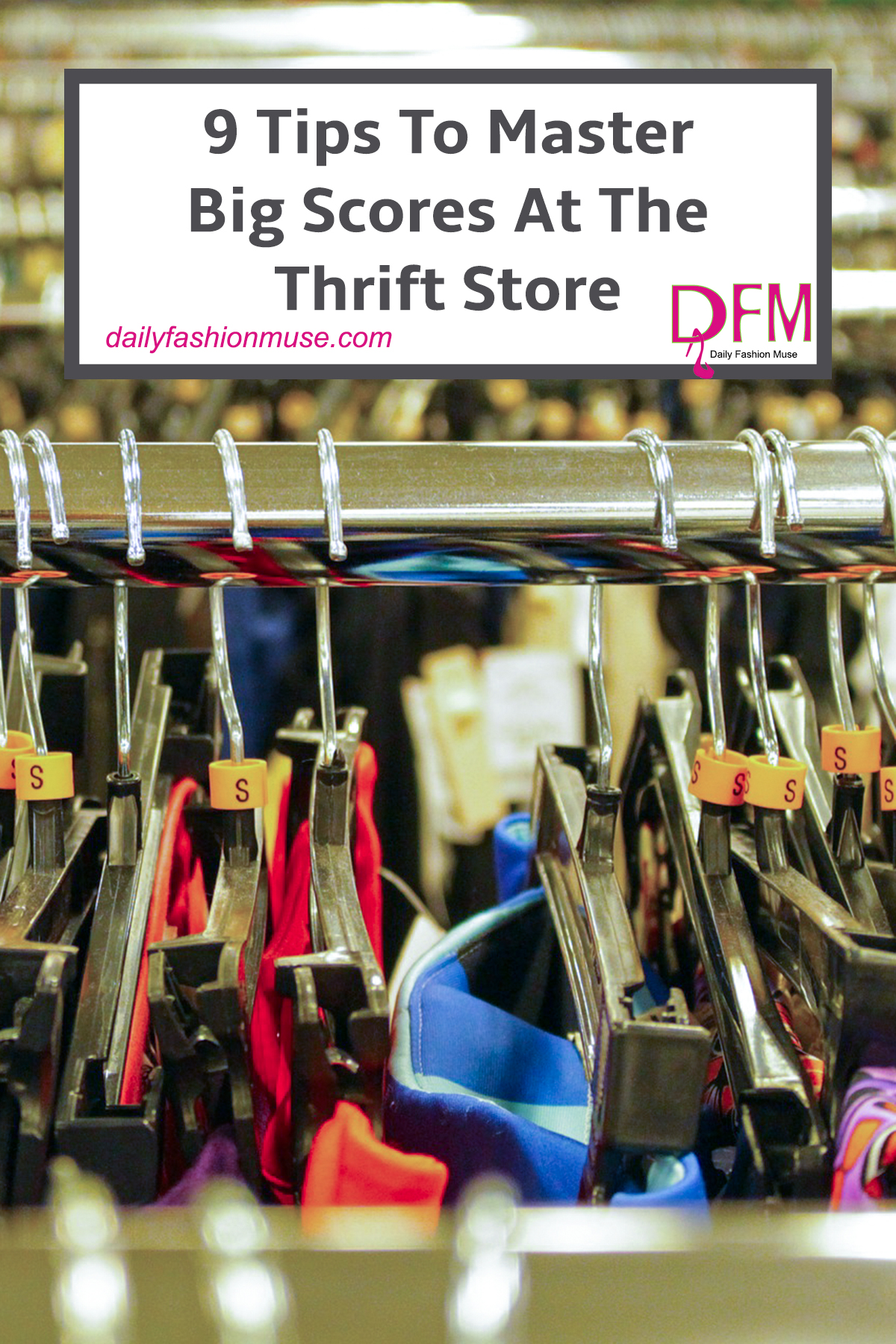 9 Thrift Store Shopping Tips To Help You Score Big