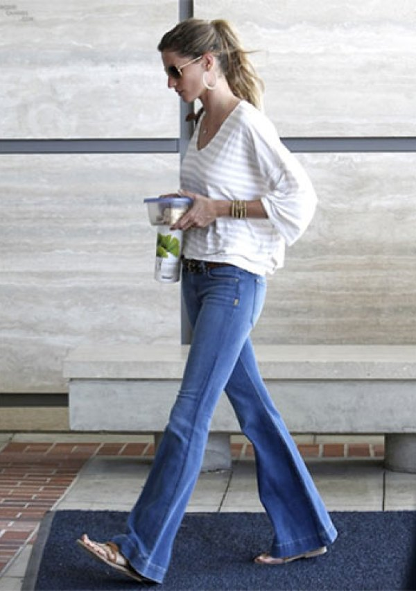 Flares And Flat Shoes