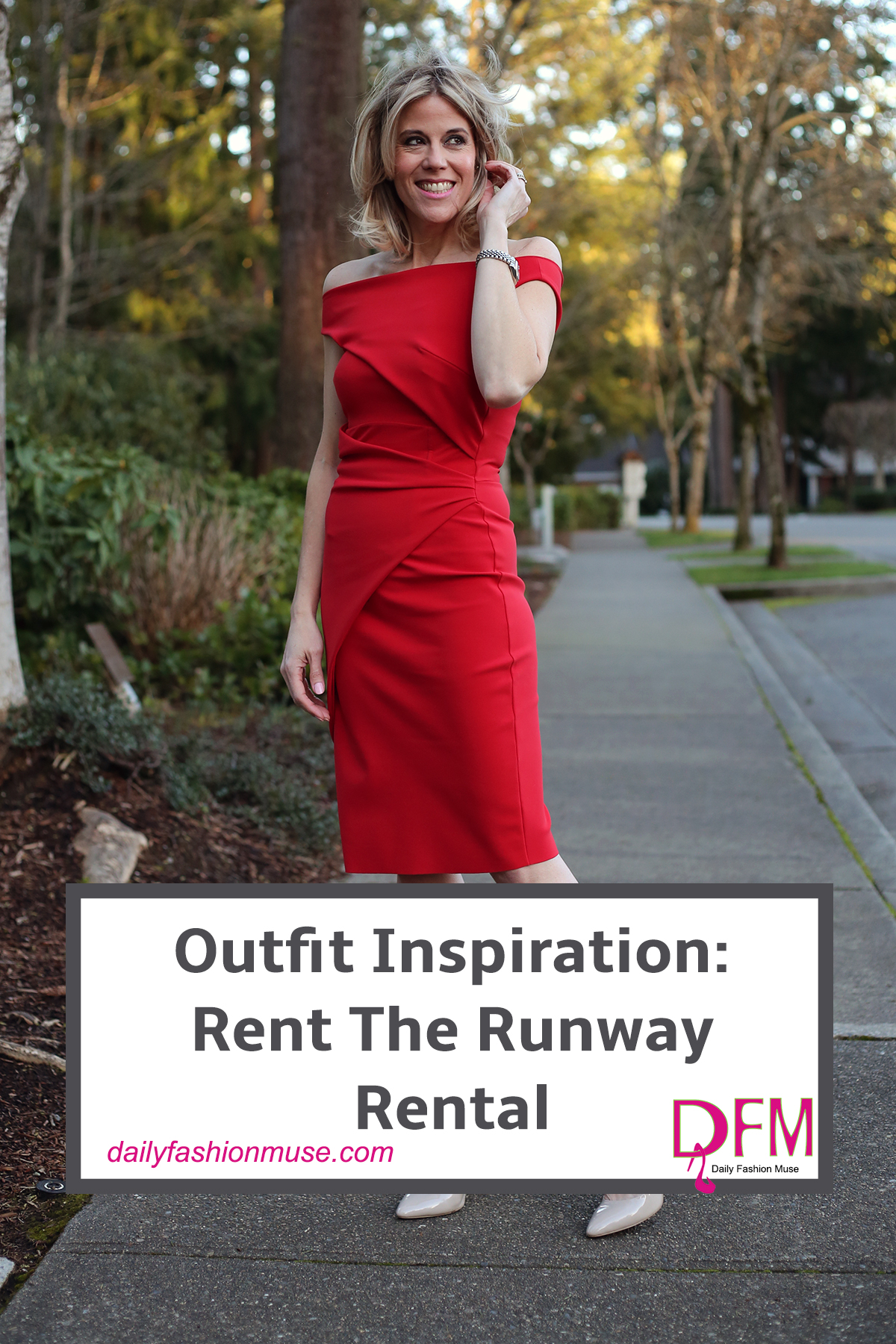 Use Rent The Runway for all your big events. After all who wants to always wear the same special dress to all your special events.