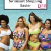 Does the idea of swimsuit shopping scare the hell out of you? Here are 4 tips to make the whole experience much easier. Click through to read.