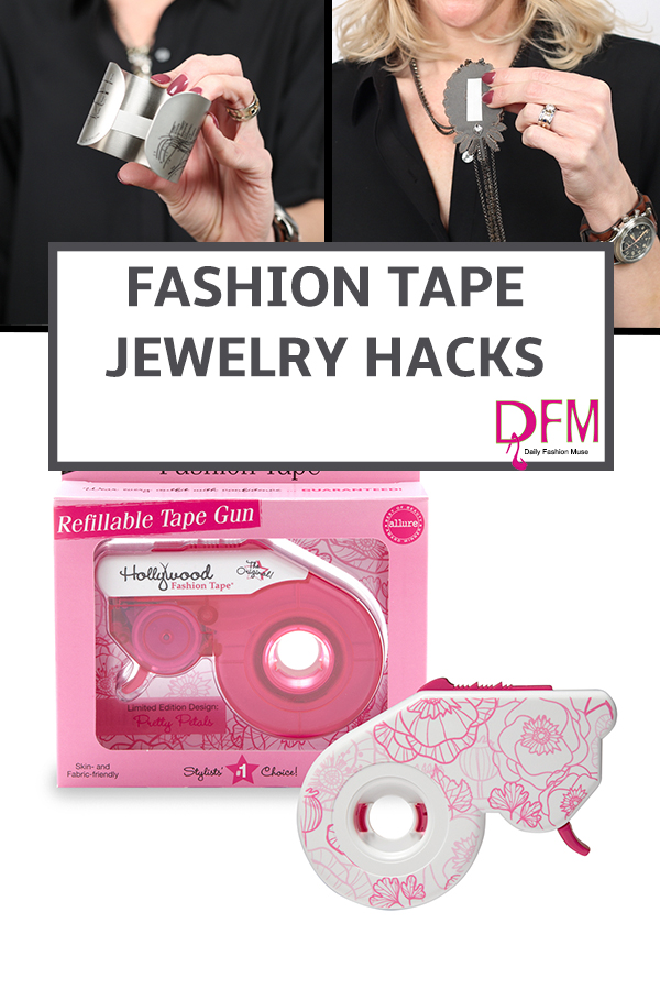 Bet you never thought of using your fashion tape for these two item. Repin for later.
