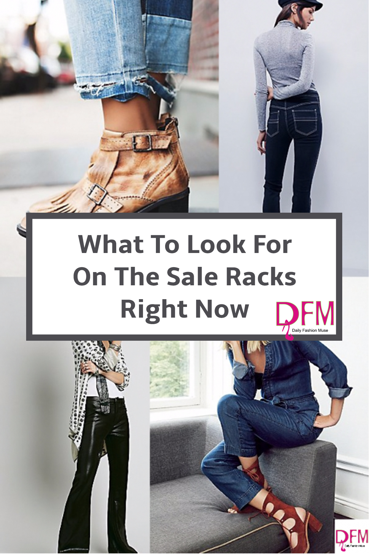 It is the perfect time of year to restock your closet. Click through to read what to shop for on the sale racks right now.