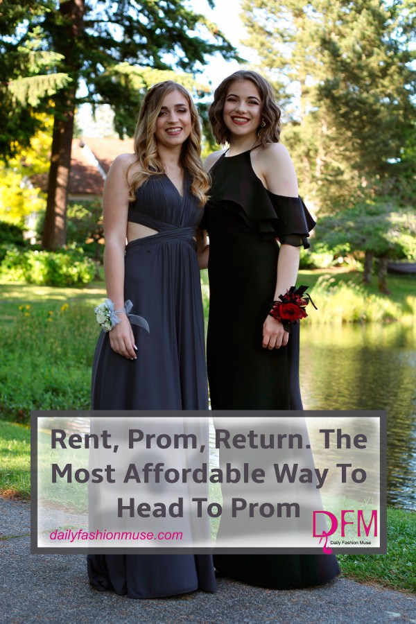 Rent, prom, return. Rent your prom dress from Rent The Runway. Designer labels and free backup sizes are just some of the perks. You can find a dress for as little as $30. Click through to see how successful Rent the Runway has been for me.