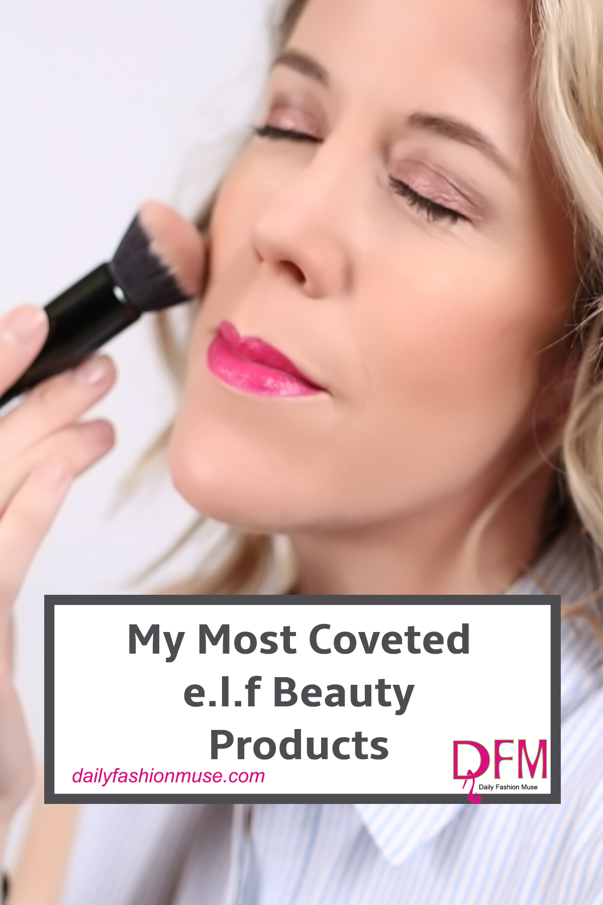 Some of my most coveted beauty products come from e.l.f. This budget friendly company really prides itself on quality. Click for must haves. -Daily Fashion Muse