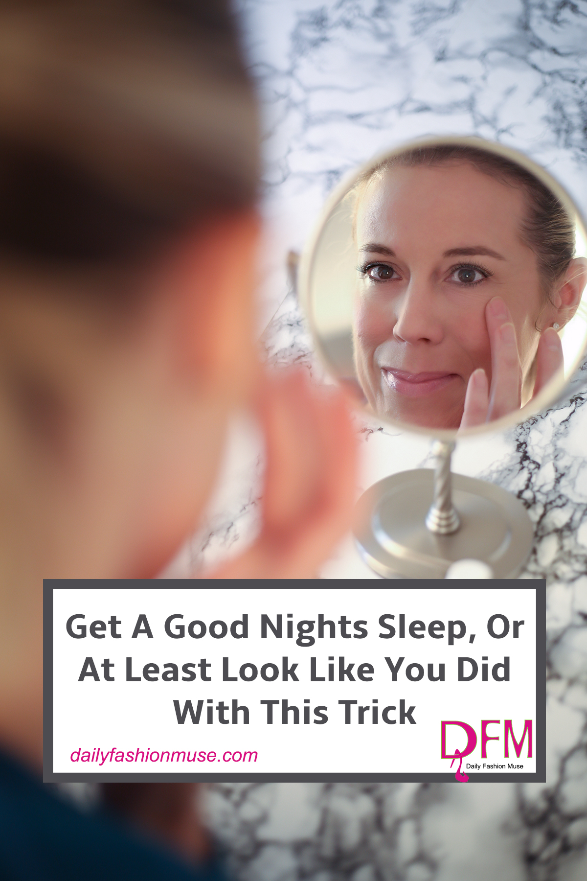 How do your eyes look in the morning when you peer into the mirror? Want to be rid of the puffiness and dark circles? Click through to find out how.