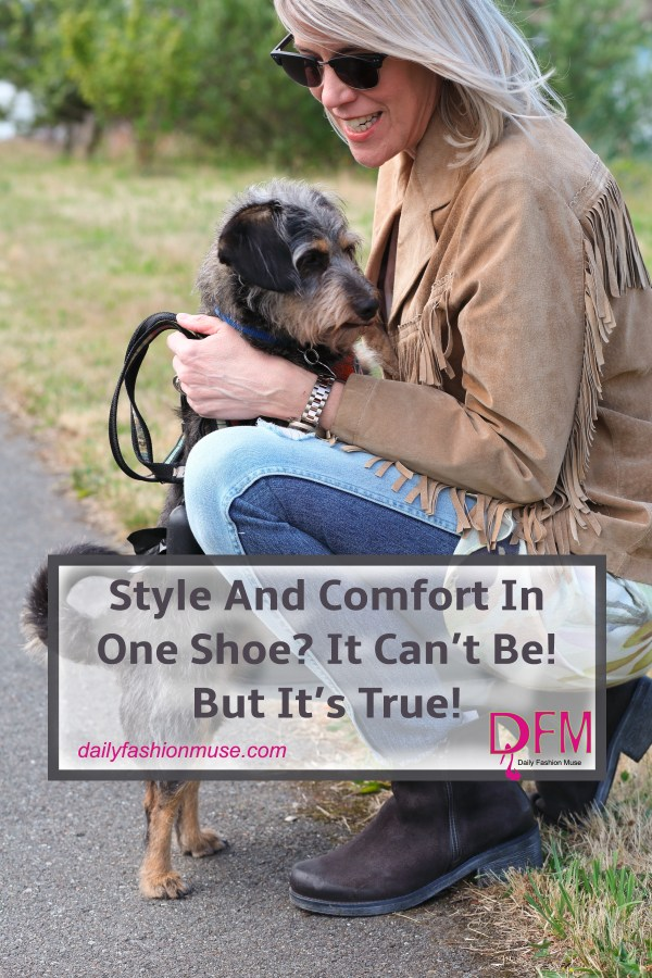 Can't find a pair of shoes that are both stylish and comfortable? Have I got a surprise for you. Read about Naot, a comfort shoe with style. No, really!