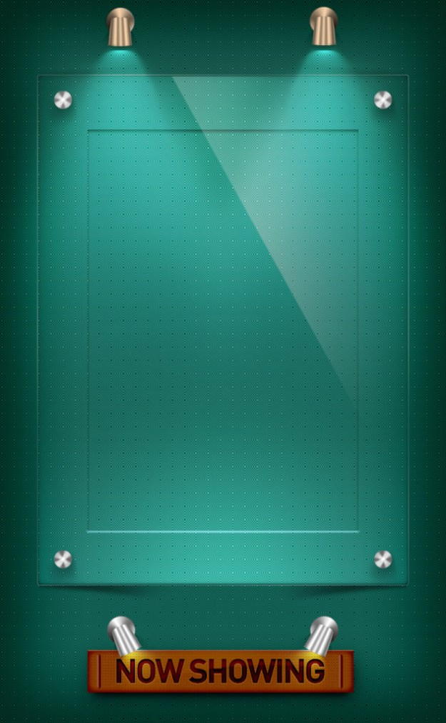 Simple Poster Frame psd