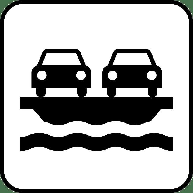 Car-Ferry free vector