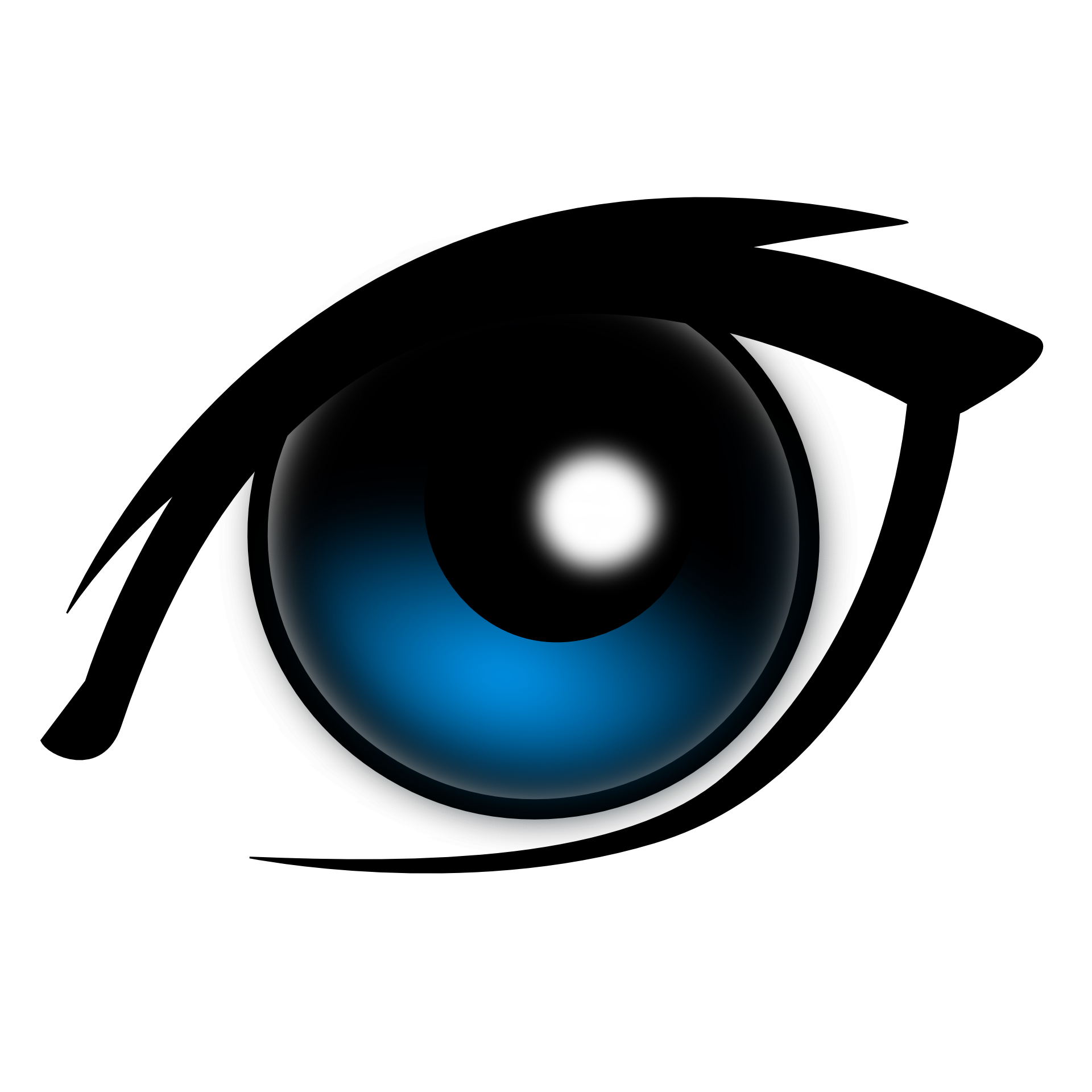 Cartoon eye vector