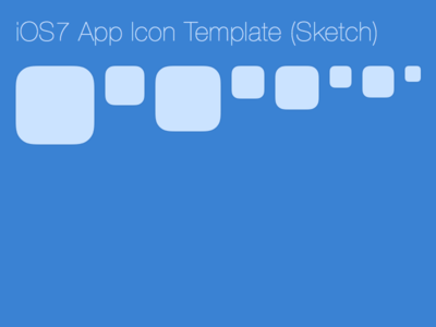 Free IOS 7 IPAD,Icon Template