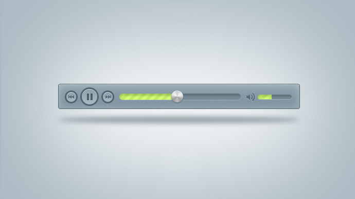 MP3 Music Player Free PSD
