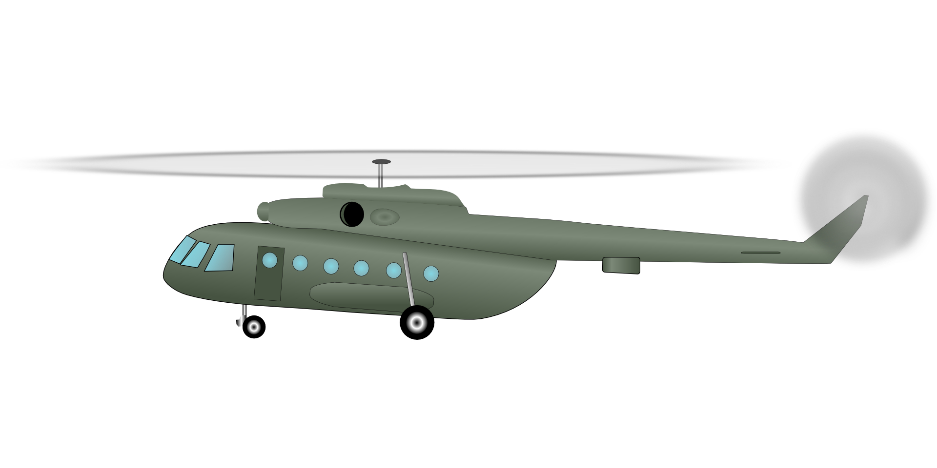 Military aircraft,helicopter,cartoon airplane vector