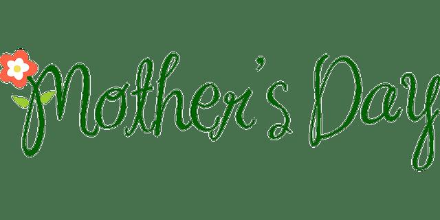 Mother's Day wordart vector