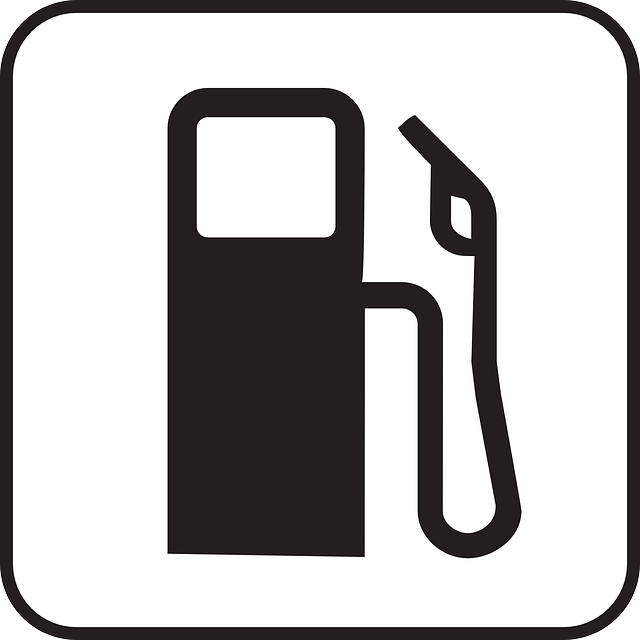 Petrol Station sign vector free