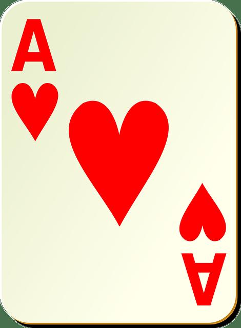 Poker -hearts A free vector